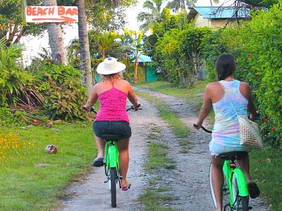Beach Cruisers from Polynesian Rental Cars & Bikes