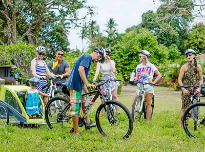 Family fun on two wheels