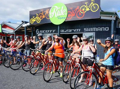 Ride Rarotonga has a big selection of bikes to choose from