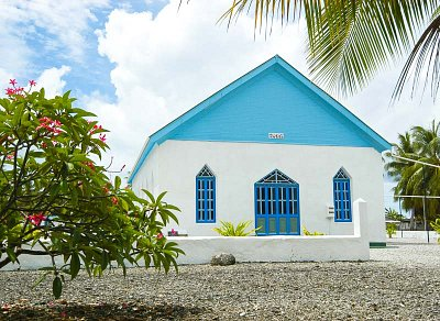 The CICC Church at Te Tautua village